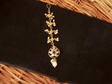 Pearl Antique Maang Tikka