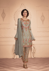 Gorgeous Embroidery Work Designer Salwar Suit