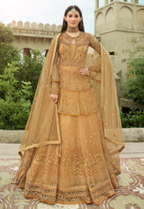 Wedding Wear New Designer Suit Golden