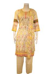 New Designer Pakistani Cotton Lawn Suit