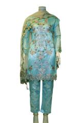 Gorgeous Embroidery Pakistani Designer Suit