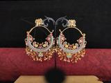 Beautiful Design Meenakari Earrings