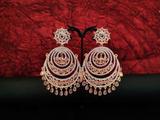 Party Wear Stones Designer Beautiful Polki Long Earrings