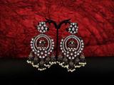 Beautiful Designer Kundan Jhumka Earrings