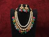 Beautiful Kundan Long Necklace Set