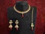 New Double Layer Antique Necklace Set