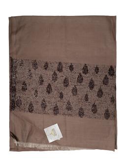 Dark-Tan Color Soft Designer Scarf/Hijab