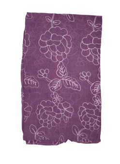 Light-Purple Cotton Designer Scarf/Hijab