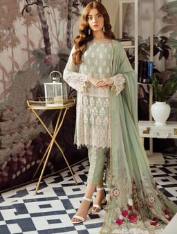 Faux Georgette Embroidery Pakistani Salwar Suit