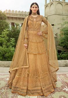 Wedding Wear New Designer Suit Golden