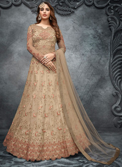 Wedding Wear Gorgeous Net Anarkali Suit