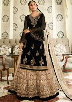 Embroidery Zari Work New Designer Lehenga