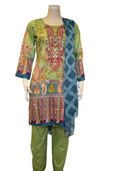 Original New Pakistani Cotton Lawn Suit