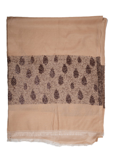 Light-Taupe-Tan color Soft Designer Scarf/Hijab