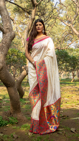 Reception Wear Silk Saree Collection