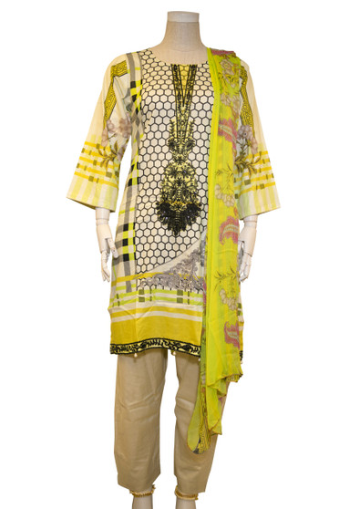 Original Pakistani Lawn Dress