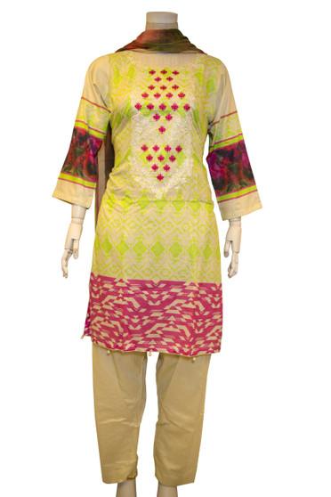 Original Pakistani Cotton Lawn Suit