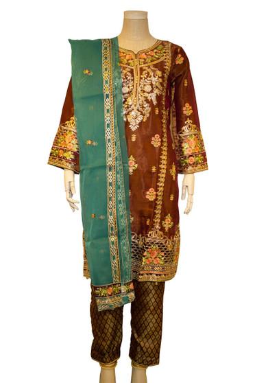 Avtaar Embroidery Net Pakistani Designer Suit