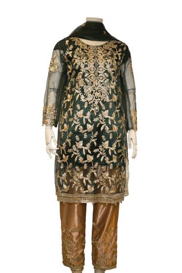 Embroidery Work Pakistani Designer Suit