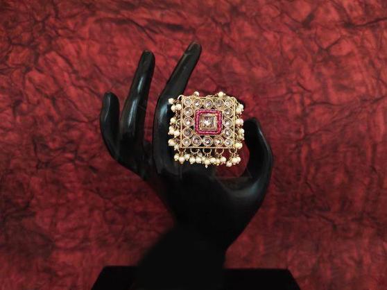 New Designer Full Stone Beautiful Finger Ring