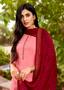 Viscose Designer Fancy Salwar Kameez Pink