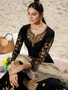 Designer Embroidery Hand Work Skirt Palazzo Suit