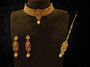 New Designer Antique Necklace With Maang Tikka