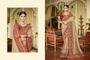 Beautiful Design Wedding Wear Heavy Embroidery Saree