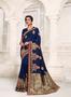Beautiful Design Festive Wear Embroidery Worked Saree