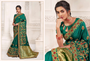Gorgeous Festive Wear Embroidery Worked Saree