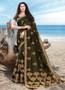 Designer Festive Wear Embroidery Worked Saree