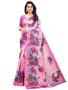 Reception Wear Printed Silk Saree