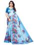 Gorgeous Printed Silk Saree