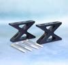RSX-M Metric-Version Riser Set