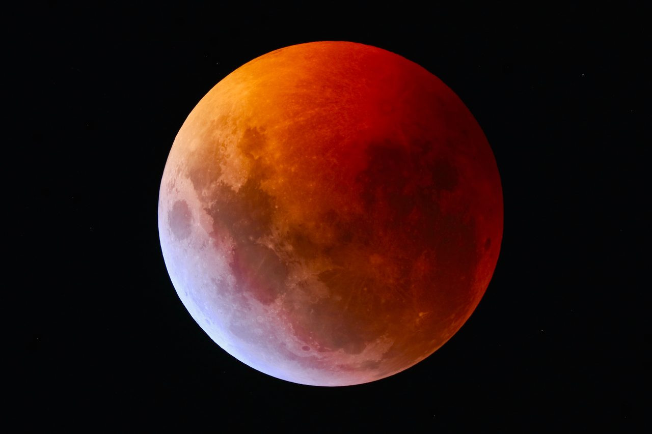 January 2019 Lunar Eclipse image taken with SVX152-T