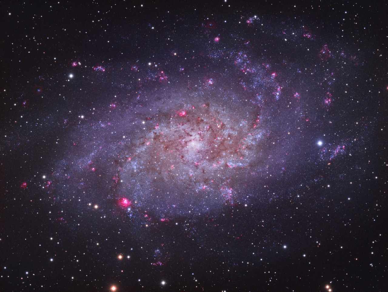 M33 LHaRGB - Jon Talbot