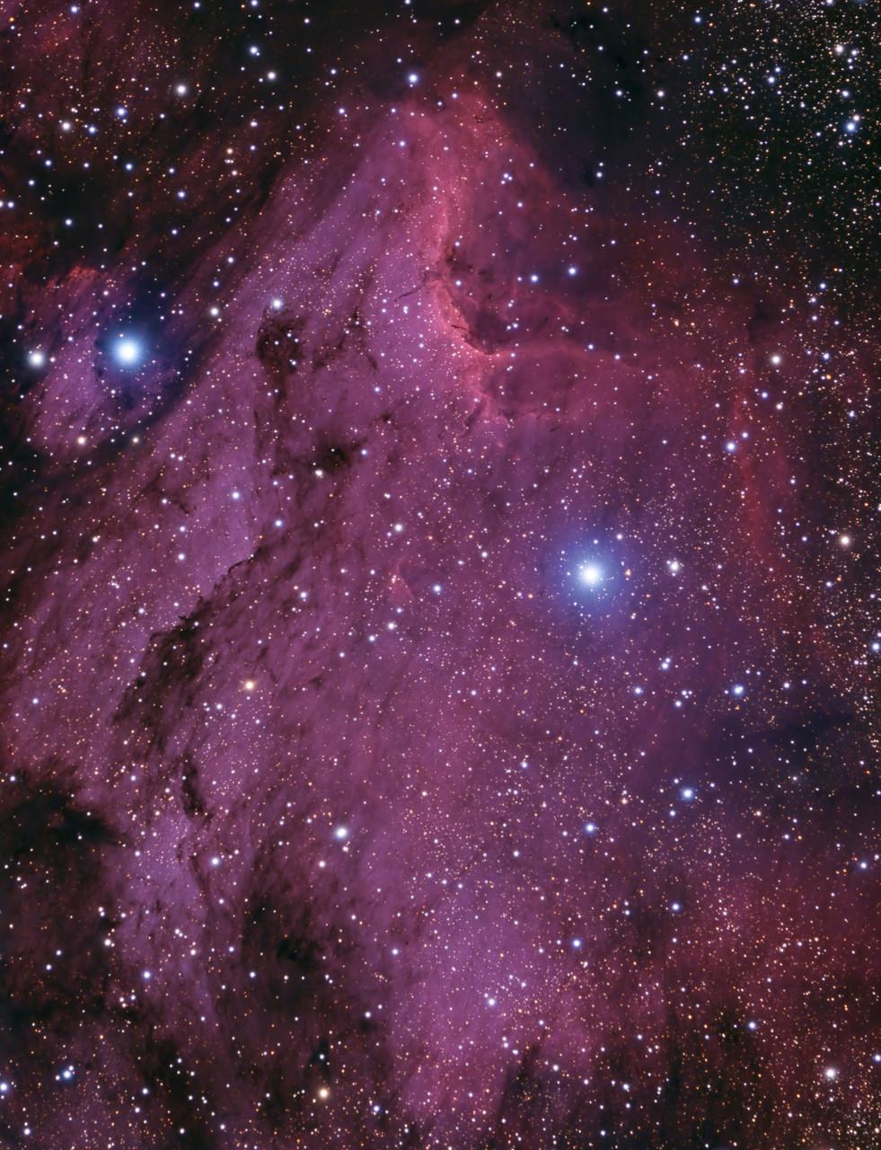 Pelican nebula - Gene Helsel