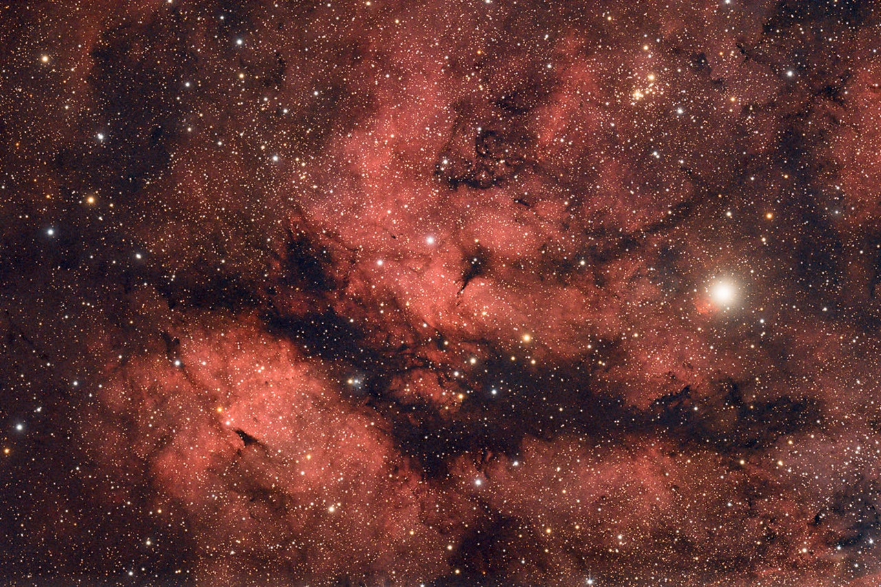 Gamma Cygni Nebula - Keith Lisk
