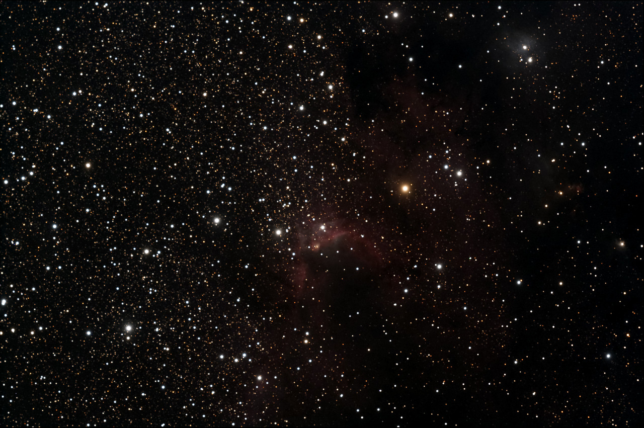 Cave Nebula, Stellarvue 130 mm