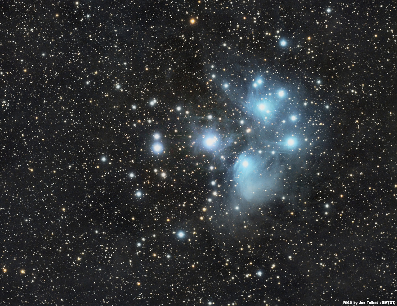 M45 by Jon Talbot with SV70T