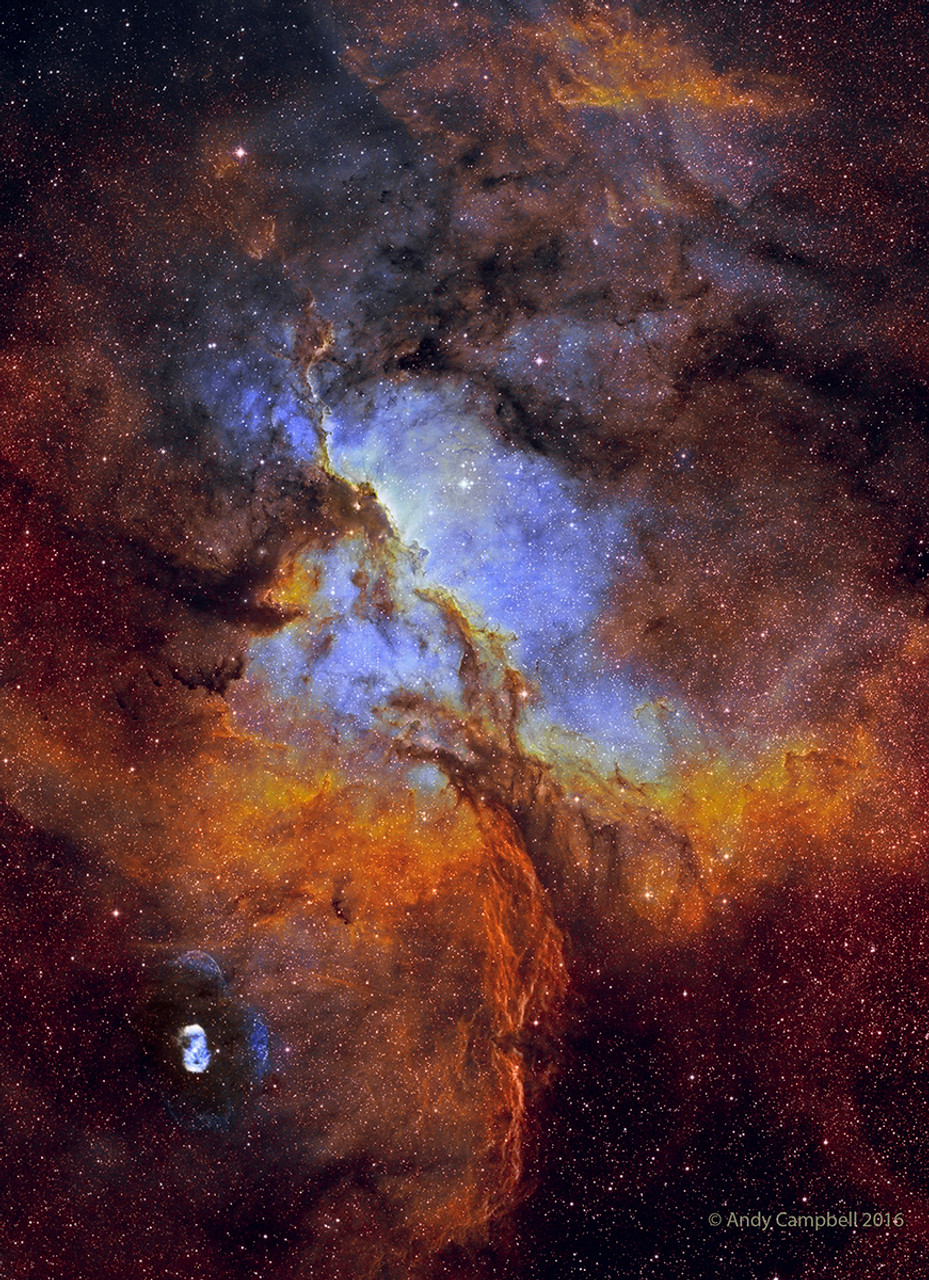 NGC 6188 by Andy Campbell with SV70T