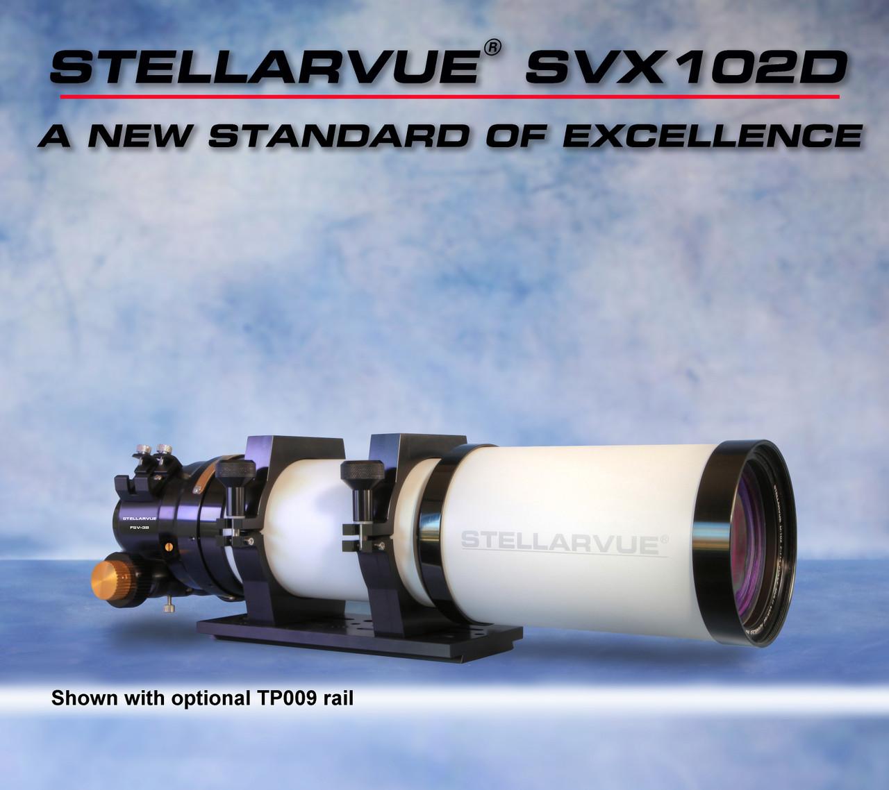 "Stellarvue's most economical 4"" apo refractor, the SVX102D"