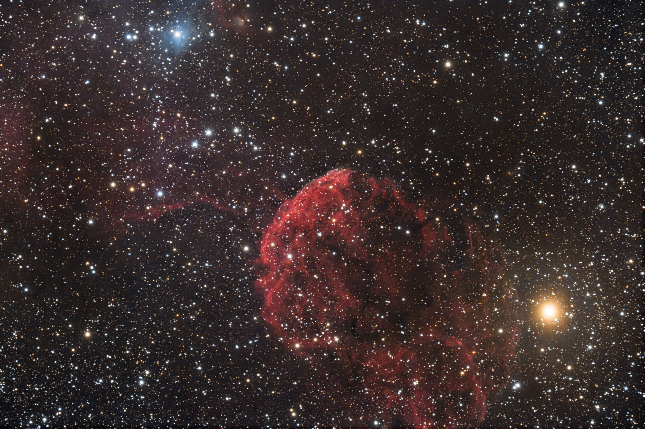 IC443 Jellyfish Nebula In Gemini - Ken Walker
