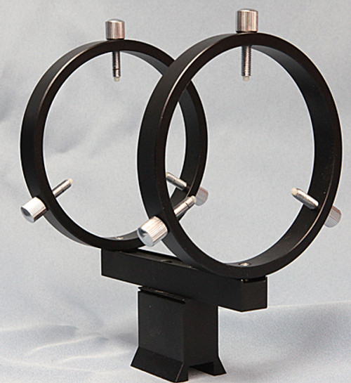 80 mm Finder Rings - Mounts to Most Finderscope Dovetail Shoes - R080DA