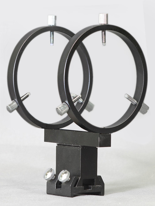 """80 mm Finder Rings - Mounts to 2.5"""" - 3"""" Feather Touch Focusers - R080FA"""
