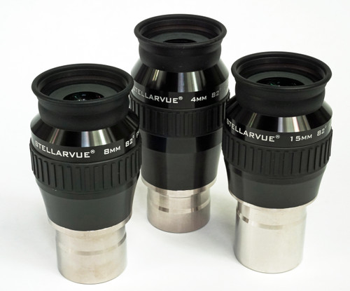 Stellarvue Ultra Wide Angle Eyepiece Set - EUW-SET