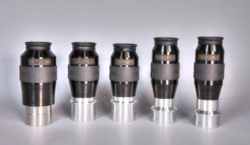 Set of five Optimus Eyepieces