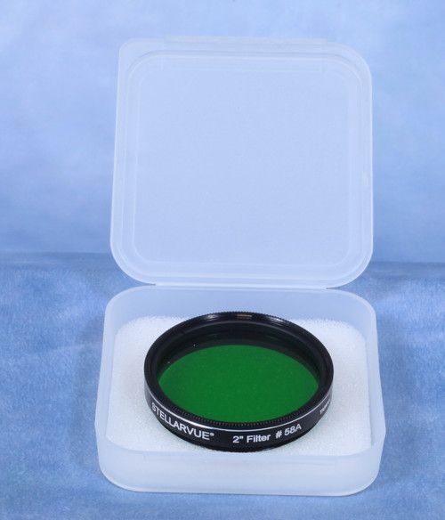 "2"" Moon Filter (#58 - Dark Green)"