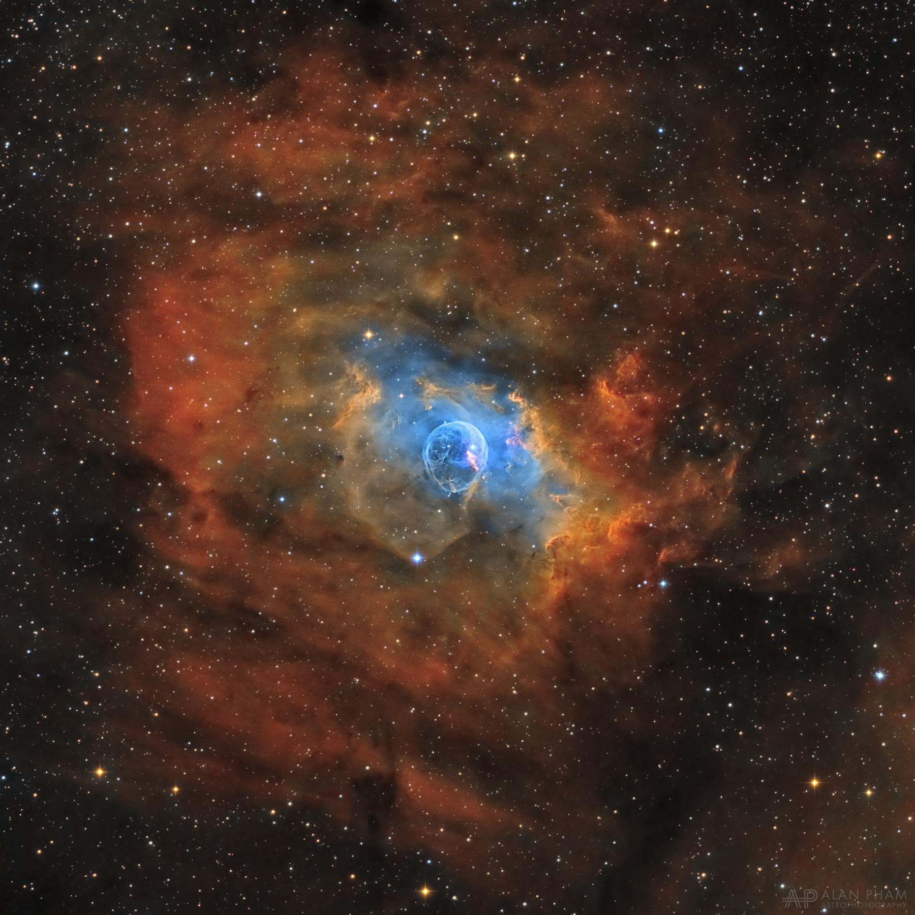 NGC 7635 – Bubble Nebula – Alan Pham