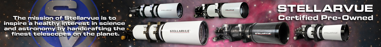 Certified Pre-Owned Stellarvue products